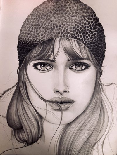Girl With Beanie