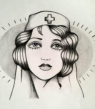 Oldschool Nurse