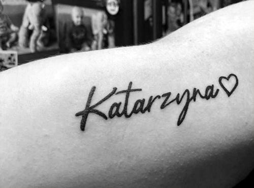 Katarzyna-Lettering