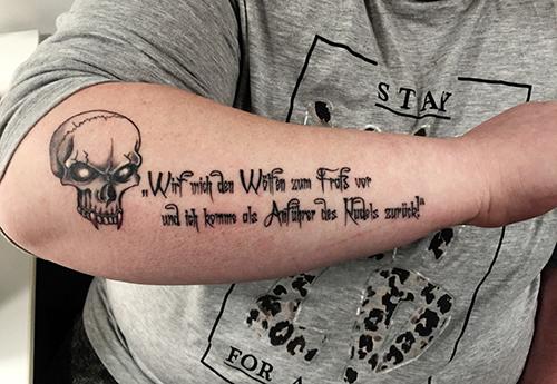 Rudelfuehrer-Tattoo
